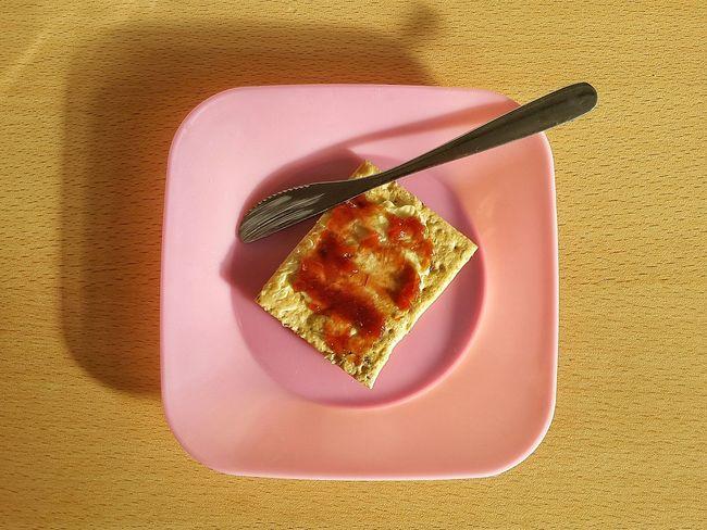 Breakfast Merienda Hora De La Merienda Breakfast ♥ Mermelada Manteca Galleta Galletas
