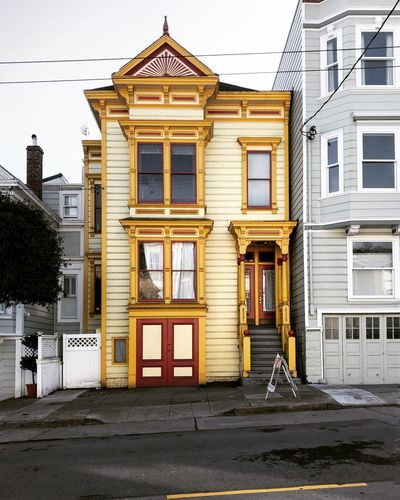 City Life Architecture Building Exterior City Façade Moodygrams San Francisco Bay Urbanphotography Yellow Color