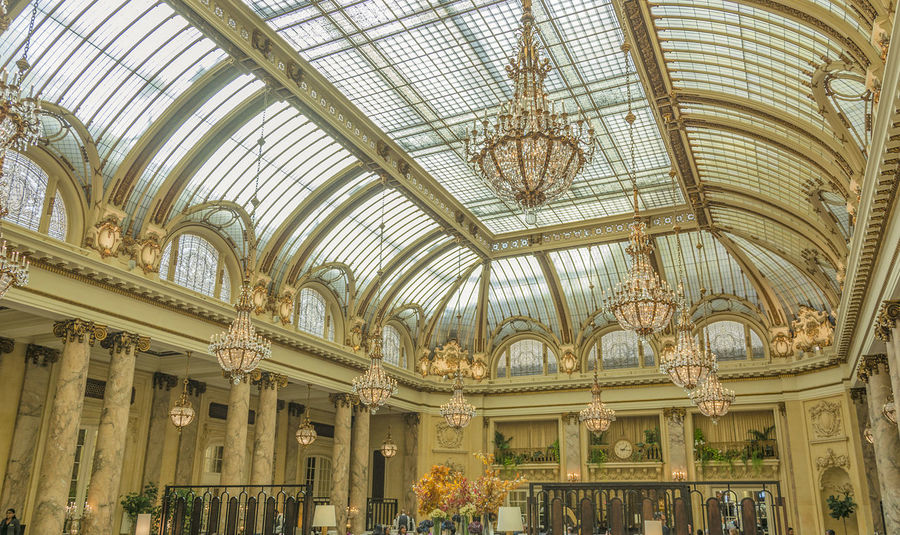 elegant ballroom Architecture Architecture Ballroom Ballroom Scene Built Structure Ceiling Day Indoors  Low Angle View No People Travel Destinations Vintage