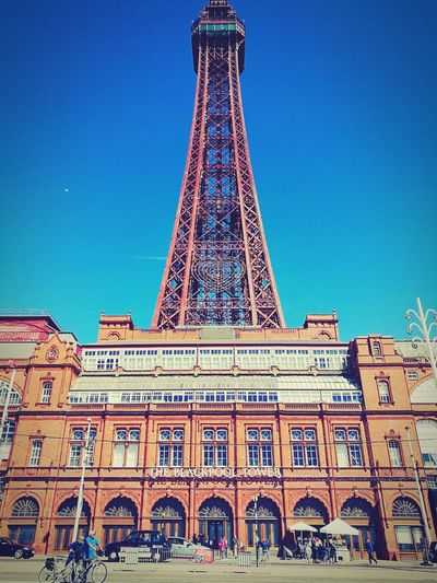 Architecture England🇬🇧 Outdoors Sky City Travel Destinations History Blackpool Tower 😊