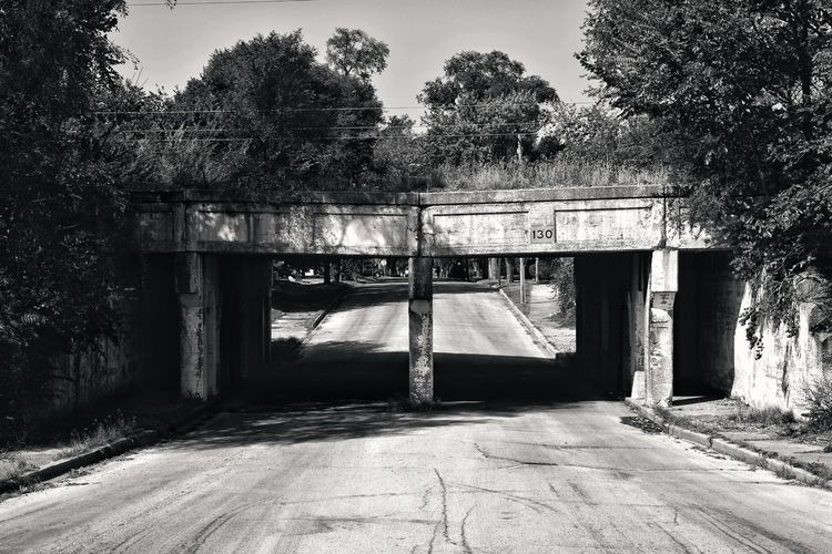 American Decay.... Built Structure Architecture Building Exterior Black Black & White Black And White Photography Black & White Photography White Street Photography Streetphoto_bw Bridges Bridge Photooftheday American Decay