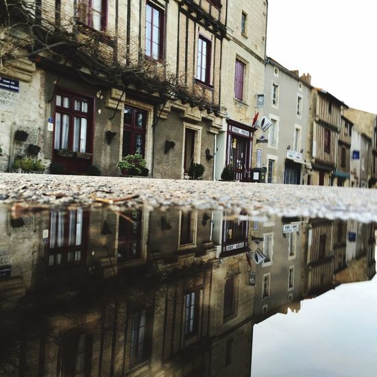 Reflection Architecture Old Medieval