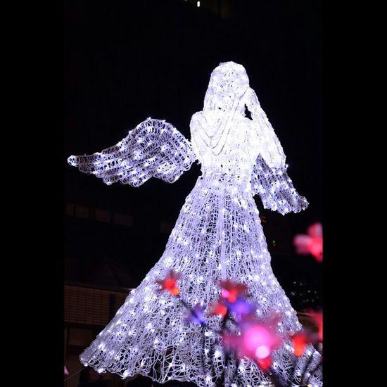 光のページェント イルミネーション 風景 天使 仙台