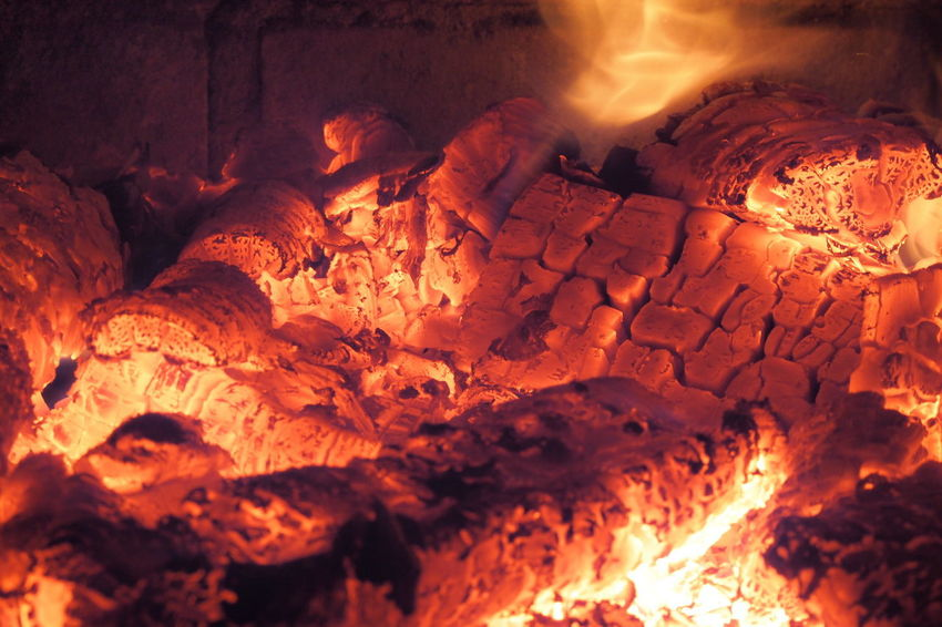 Ash Burning Close-up Flame Food Freshness Heat - Temperature Indoors  Motion Night No People