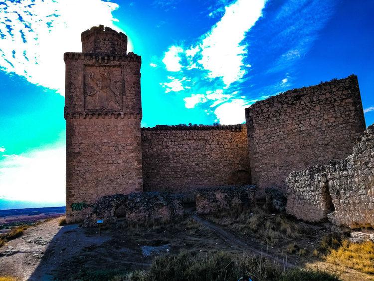 Old Ruin Ancient Civilization Architecture Sky