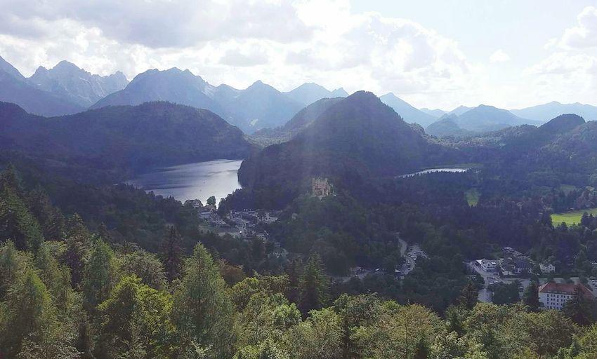 Neuschwanstein Views Balconygoals Castle Bavaria Germany Deutschland Euronlyyoungonce Travel