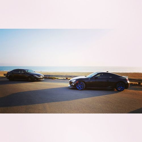 Cayucos California Scion Fr-S Scion  FRS Lexus Beach Sunset Ocean View Ocean First Eyeem Photo