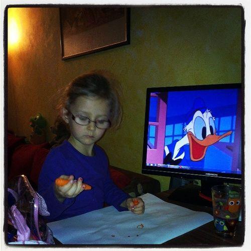 Donald DuckFilzstifte Saft  Passt !!