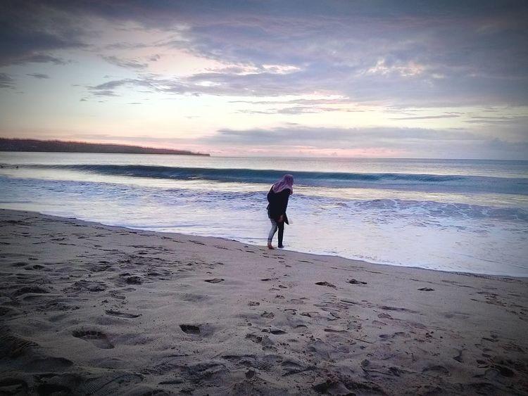 Wonderful indonesia with beautiful sea.. Beach Sea Beauty In Nature Water Loveindonesia Loveindonesianature