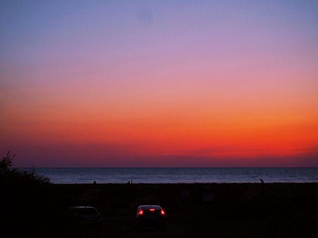 Love the life you live. Live the life you love. Escaping Nothing Landscape Sky Sunset