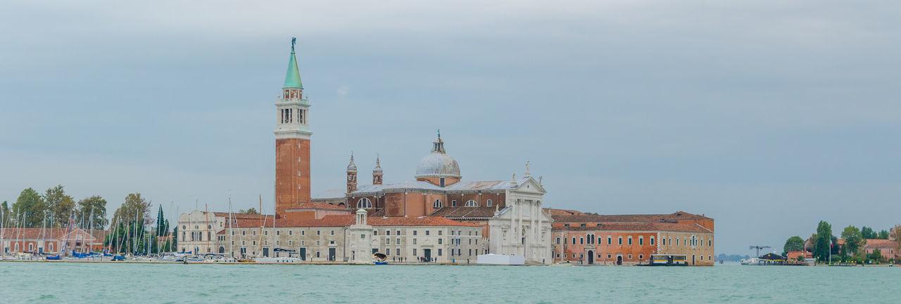 View of san giorgio maggiore island against sky