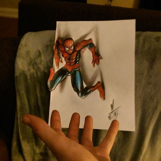 Spiderman 3Dart Torstenmatthes Mrttattoo Check This Out Tattooartist  Fullcustomtattoo Freehand Drawing Realistic