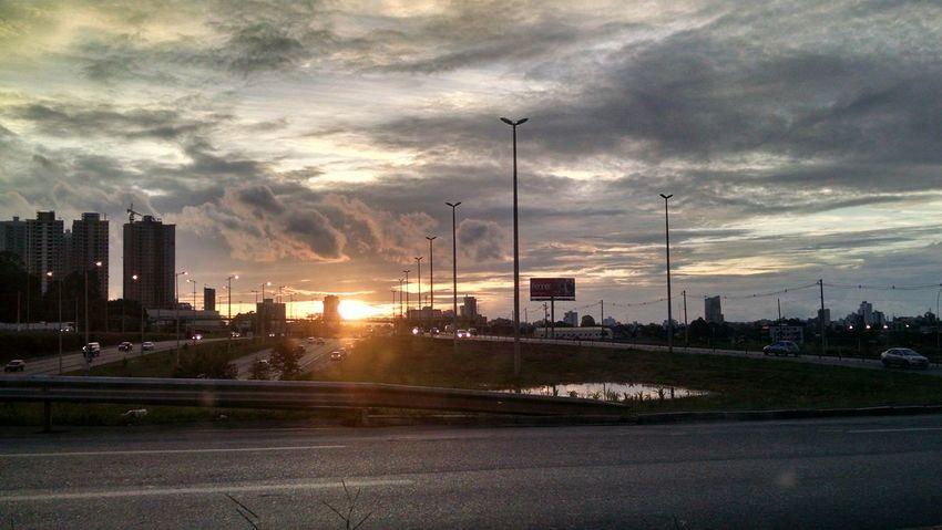 Sem filtro!! Por Do Sol Day Brazil Sol