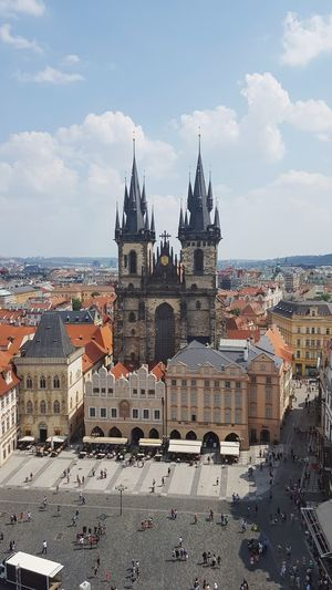 Church of Our Lady before Týn, Old Town Square, Prague. Prague Czech Republic Prague Church Of Our Lady Before Tyn Church Prague Old Town Old Town Prague St Nicholas Church Old Town Old Town Square City Politics And Government Cityscape Sky Architecture