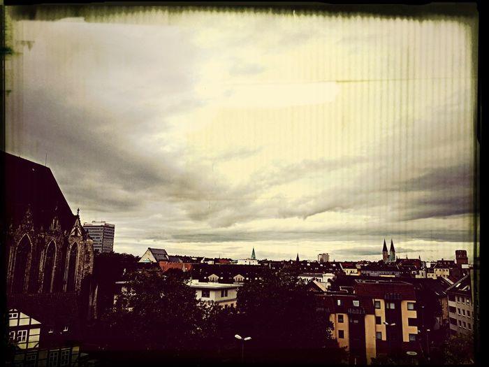 Himmel über Braunschweig First Eyeem Photo Stadtlandschaften