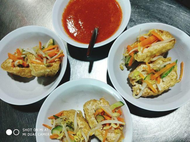 Tauhu Sumbat Malaysian Food Tauhusumbat Tàuhũ Soyabean Kuihmuih Kuih Tradisi Malaysia