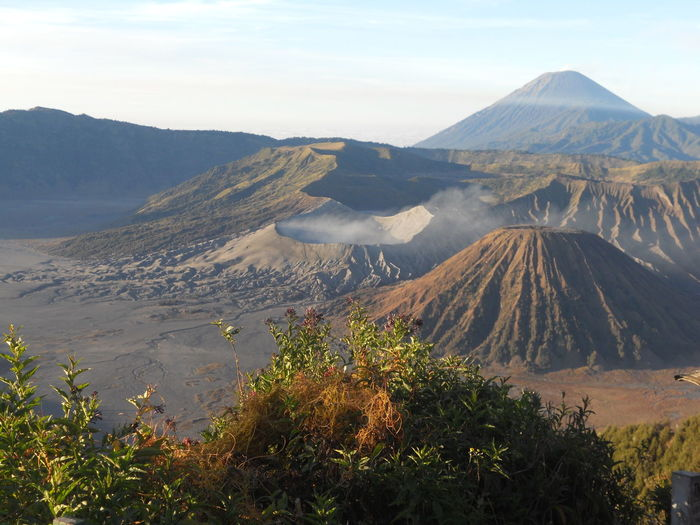 beautiful mountain,Bromo mountain, east java