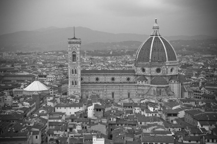 Architecture Architettura Blackandwhite Day Dome Duomo Duomo Di Firenze Firenze Italia Place Of Worship Religion Spirituality View From The Top