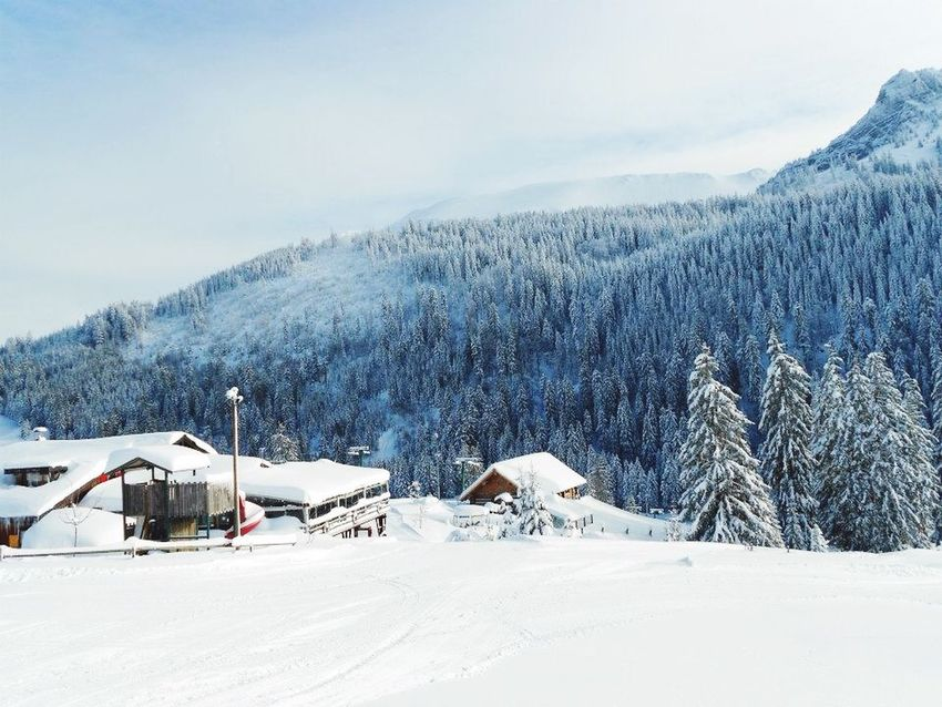 Hello World Hiver Montagne Neige❄ Winter Nature