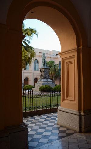 Patio Arch Arco Column Columna  Historico History