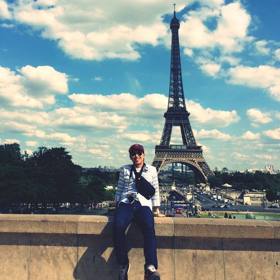 Paris Eiffel Tower At Palais De Chaillot