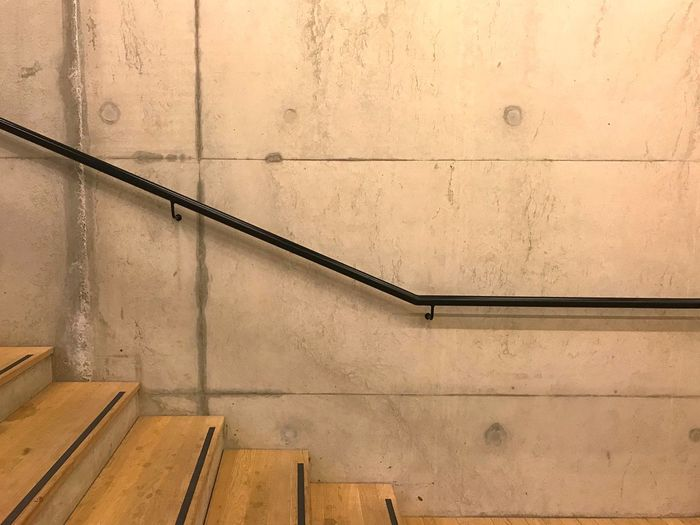 EyeEm Selects Steps And Staircases Staircase Steps Railing Architecture Built Structure Pattern No People Wood - Material Hand Rail Backgrounds Day Indoors  Close-up