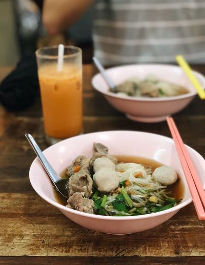 Best meal in Chiangmai Travel Photography Travel Chiangmai Thailandtravel Thai Noodle Noodles Thai Milk Tea Food And Drink Food Kitchen Utensil Healthy Eating Table Eating Utensil Drink Soup Freshness EyeEmNewHere EyeEmNewHere