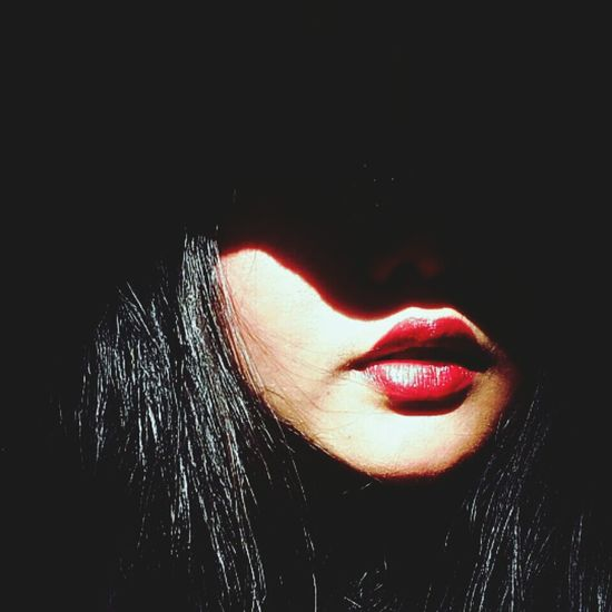 just take my lips That's Me Red Lipstick Red Lips Shadow