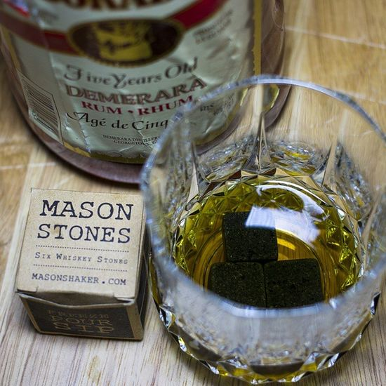 Thank you @birchboxman for including these whiskey stones in my box, any excuse to drink Guyanese rum TeamCanon Rum Birchbox Guyanese