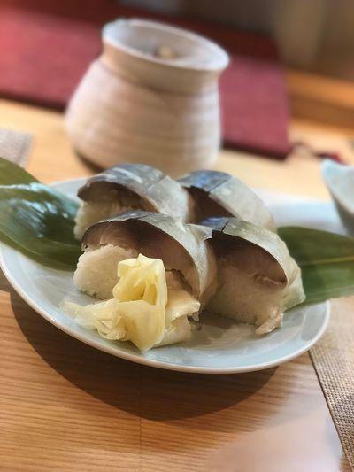 鯖寿司 Japanese Food Sushi Dinner WASHOKU Yummy Happy Eating Drinking Sabazushi