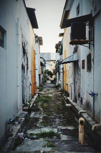 Malaysia Ipoh Streetphotography Nightfall