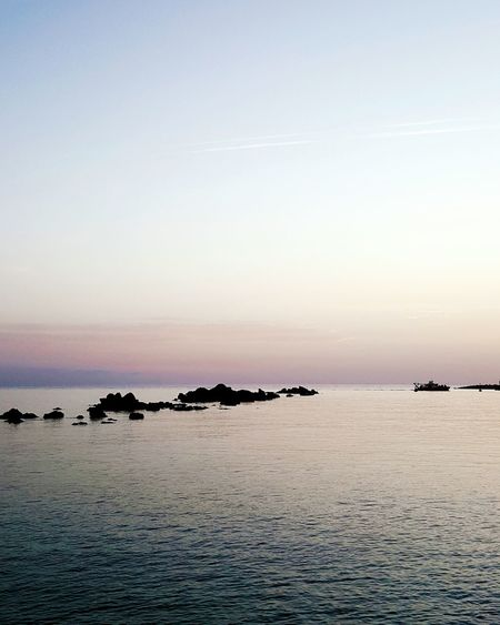 Sunset Sea Nature Idyllic Scenics Sky Beauty In Nature Vacations No People Water Outdoors Blue Hour Silence Meditation Horizon Over Water Ocean View Peace Tranquil Scene