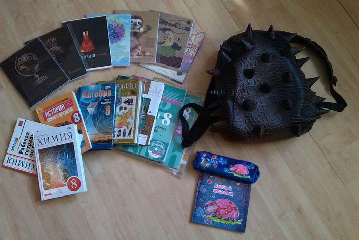 Russianschool Textbooks Copybooks Knapsack