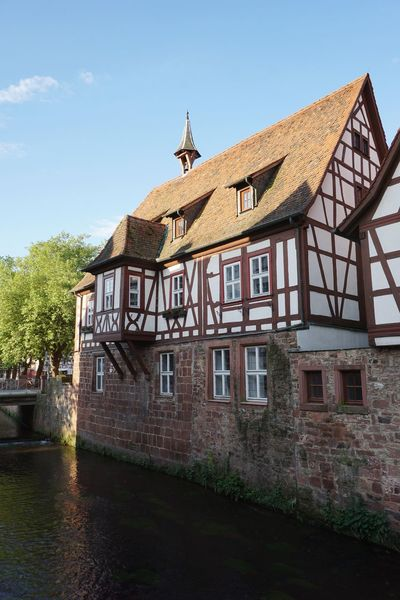 Erbach Im Odenwald Riverside EyeEm Selects Water Sky Architecture Building Exterior Built Structure Historic Historic Building