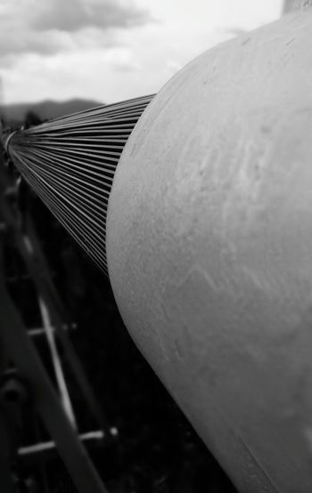 Follow the support black version Steel Steel Structure  Steel Cable Royal Gorge Bridge, Colorado Blackandwhite EyeEm Best Shots EyeEm Bridge Outside Colorado Wire Gray Suspension Bridge City Close-up Sky Metal Industry Historic