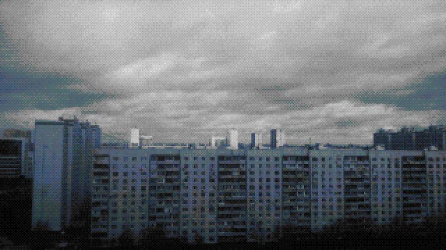 Москва окраина Moscow City Cityscape Architecture North панельки антиутопия Built Structure Skyscraper Technology Cloud - Sky