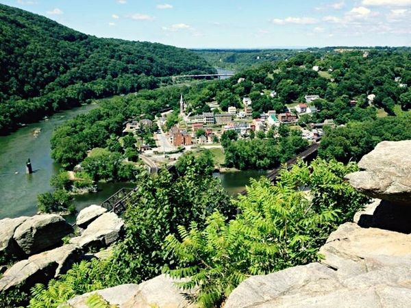 West Virginia Harpersferry Harpers Ferry Trees Mountains Hiking Hikingadventures Travel View