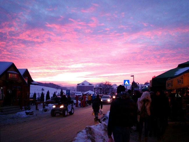 Sunset in my town 😍Sunset Clouds & Sky Nature Zlatibor Mobilephotography Hello World ✌ EyeEmSerbia Alexandracubrak Violet By Motorola