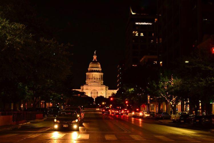 Austin Texas Austin, TX Illuminated City Travel