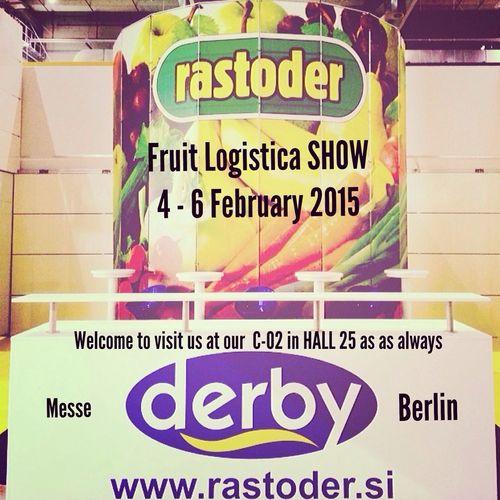 Messe Berlin Fruit Logistica Derbystand Fruit