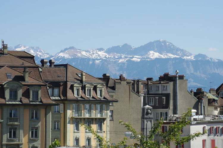 Lausanne's roofs - 1 Beautiful City Lausanne Mont Montains    Nature Old Town Roof Sightseing Snow Spring Switzerland Windows