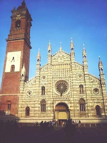 Duomo Di Monza Travel Autumn Happyday