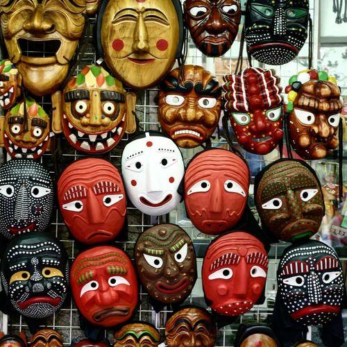Korea Tradition Mask Mask EyeEm Korea Insadong