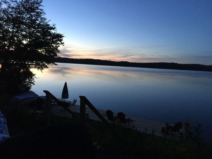 Lake Lake View Lake Clear Adirondack , New York, USA