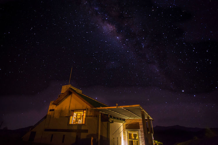 Milk River Galaxy Landscape Low Angle View Night Sky Space Star - Space Star Field