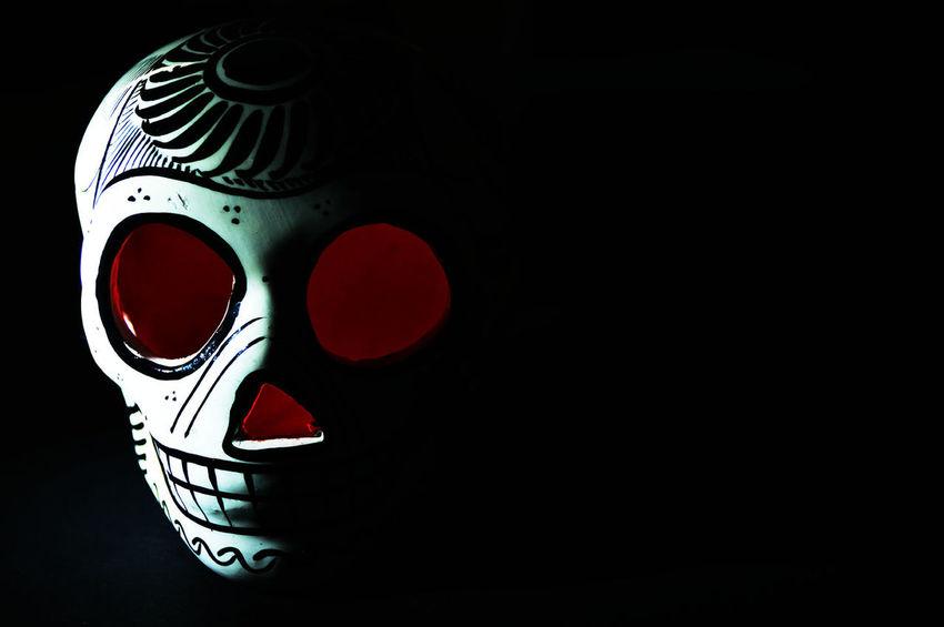 Tzompantli Mexicanskull Skull Mexican Culture Calavera  Dark Contrast DIA DE MUERTOS
