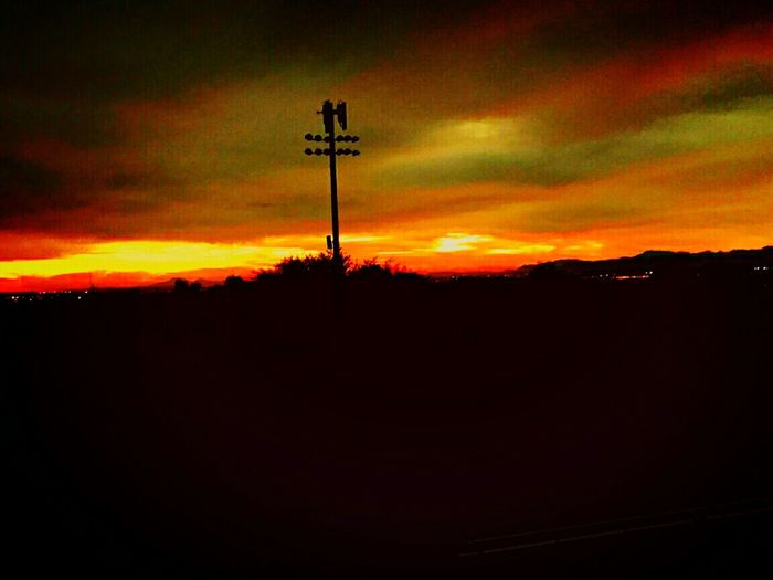 Beauty In Nature Beautiful View Sundown Arizonasky Enjoy The View Dramatic Sky Blessings Beauty In Ordinary Things Blessed & Thankful :) Silhouette Landscape Lovethelifeyoulive Arizonasunsetsarethebest Tranquility Love Without Boundaries Justgoshoot Color Explosion Sunset Beautiful Sky