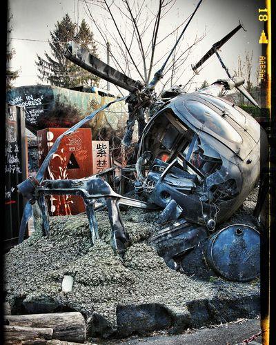 Helicopter La Demeure Du Chaos
