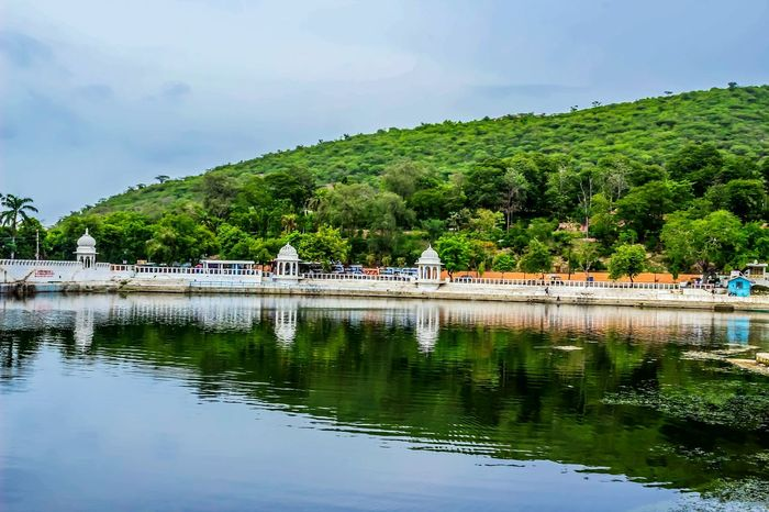 Water Reflection Landscape Waterfront Lake Nature No People Cloud - Sky Day Tree The Week On EyeEm EyeEm Gallery EyeEm Nature Lover Palace Of Culture Udaipur_dairies
