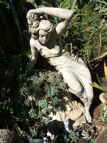 Garden sculpure Taking Photos Relaxing Lady Photography Garden Photography Landscapes Garden Sculptur Garden Sculpture  A Bit Of Art